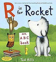 R is for Rocket Hardcover Picture Storybook