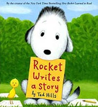 Rocket Writes a Story Hardcover Picture Storybook