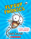 Fly Guy Phonics includes 10 Paperback books and 2 workbooks