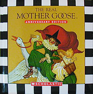 The Real Mother Goose Anniversary Edition Padded Hardcover Picture Book