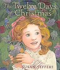 The Twelve Days of Christmas Hardcover Picture Book illustrated by Susan Jeffers