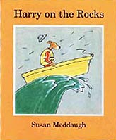 Harry On The Rocks Paperback Picture Book