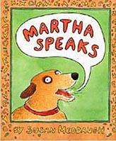 Martha Speaks Hardcover Picture Book w/CD