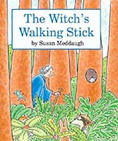 The Witch's Walking Stick Hardcover Picture Book