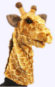 14 in. Giraffe Stage Puppet