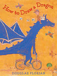 How to Draw a Dragon Hardcover Picture Book