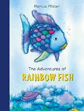 The Adventures of Rainbow Fish Hardcover Picture Book