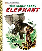 The Saggy Baggy Elephant Little Golden Classic Book