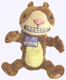 Scaredy Squirrel Plush Doll