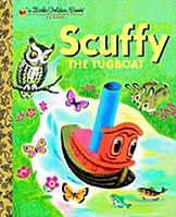 Scuffy The Tugboat Little Golden Classic Book