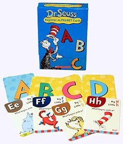 Dr. Seuss Alphabet Cards