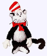 12 in. Cat in the Hat Plush Doll