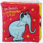 Dr. Seuss's Circus McGurkus 1,2,3! Cloth book
