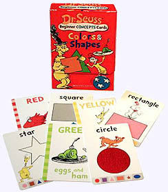 Dr. Seuss Colors and Shapes Cards
