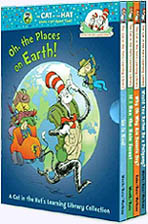 Oh the Places on Earth! Four Paper Picture Books in slipcase