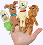 What Pet Should I Get? Finger Puppet Set