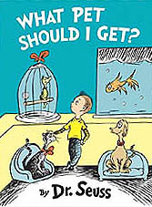 What Pet Should I Get? Hardcover Picture Book