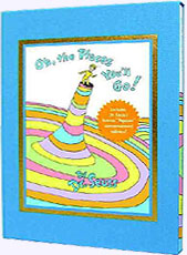 Oh, the Places You'll Go! 25th Anniversary Edition in a Slip Case. Hardcover Picture Book