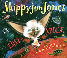 Skippyjon Jones Lost in Spice Hardcover Picture Book with CD