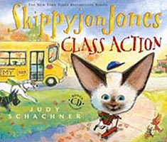Skippyjon Jones Class Action Hardcover Picture Book with CD.