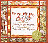 Saint George and the Dragon Hardcover Picture Book