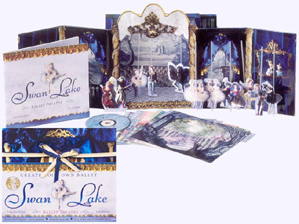 Swan Lake Ballet Theatre Hardcover Pop-up Picture Book