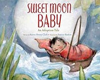 Sweet Moon Baby Hardcover Picture Book