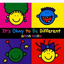 IT's Okay to be Different Hardcover Picture Storybook