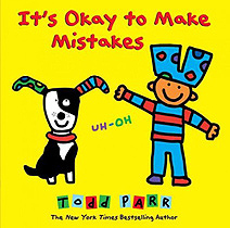 It's Okay to Make Mistakes Hardcover Picture Storybook