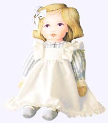 17 in. Alice Cloth Doll