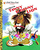 Tawny Scrawny Lion Little Golden Classic Book
