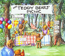 Teddy Bears Picnic Hardcover Picture Book
