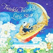 Twinkle, Twinkle, Little Star Hardcover Picture Book