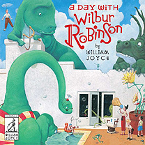 A day with Wilbur Robinson Hardcover Picture Book