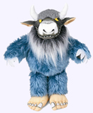 7in. Bernard Wild Thing Plush Doll