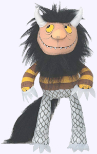 14 in. Moishe Wild Thing Puppet