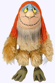 14 in. Sipi Wild Thing Puppet