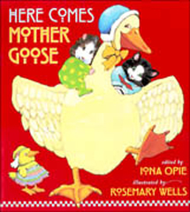 Here Comes Mother Goose Hardcover Picture Book