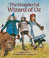 The Wonderful Wizard of Oz Hardcover Picture Book