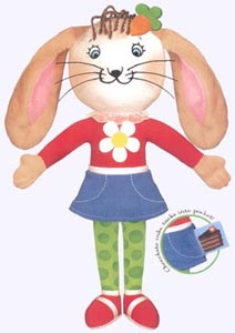11.5 in. Betty Bunny Plush Doll