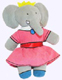 Celeste the Elephant Plush Doll