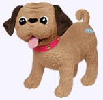 7 in. Eloise's Dog Weenie Plush