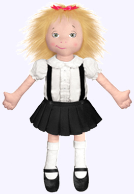 18 in. Eloise Plush Doll