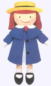 15 in. Madeline Plush Doll