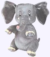 7 in. Saggy Baggy Elephant Plush Toy