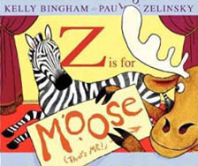 Z isfor Moose hardcover Picture Book