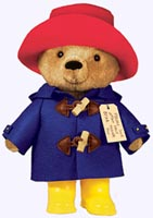 10 in. Paddington Bear Stuffed Doll