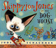 Skippyjon Jones in the Dog-House Hardcover Picture Book with CD.